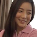 韓国のゴルフのお姉さん