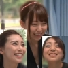 祭り女子3人組