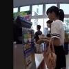 店内の少女たち盗撮